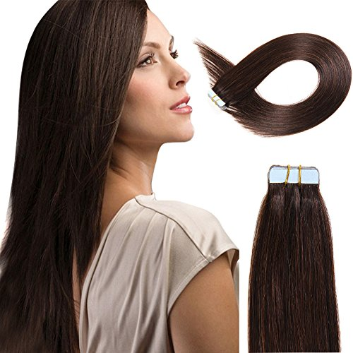 Tape in human hair extensions 16 inch 20pcs 40gpack slilky tape in human hair extensions 16 inch 20pcs 40gpack slilky straight seamless skin weft pmusecretfo Choice Image